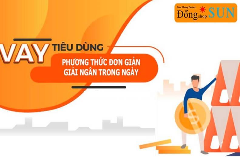 Hướng dẫn vay cầm đồ online tại Đồng Shop Sun