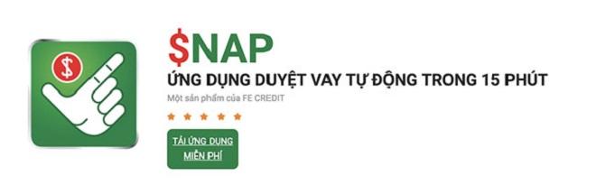Thủ tục vay tiền online tại $nap FE vô cùng đơn giản