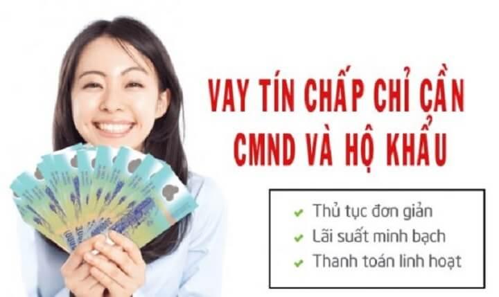 vay tiền bằng sổ hộ khẩu và cmnd