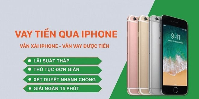 vay tien bang iphone