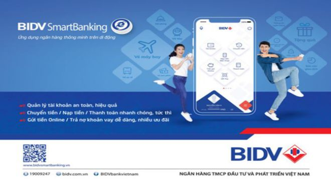 tai khoan bidv smart banking bi khoa