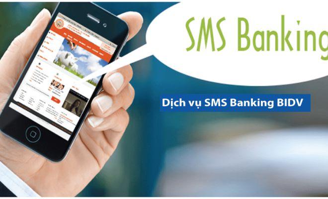 huy sms banking bidv