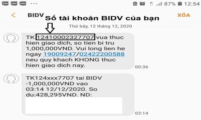 tra stk qua sms