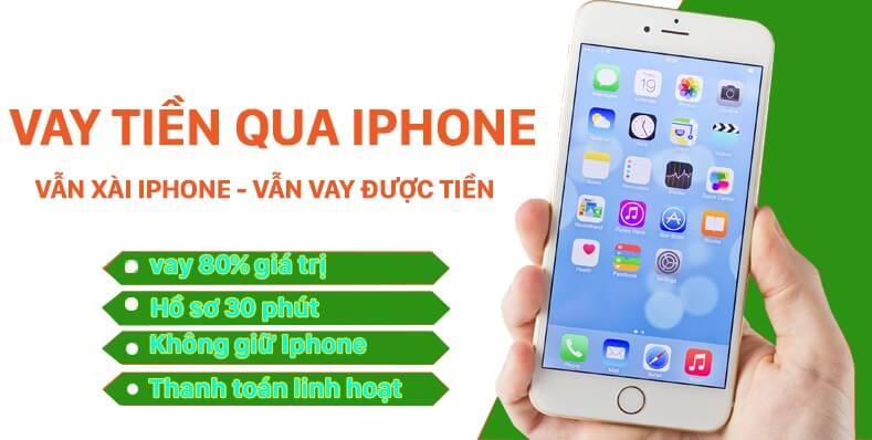 vay tiền qua icloud iphone