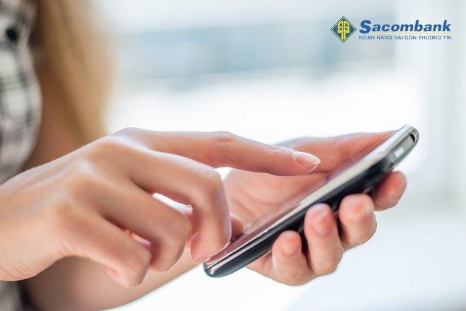 sms banking sacombank