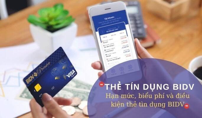 Mở thẻ tín dụng bidv