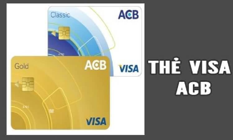 mở thẻ visa acb