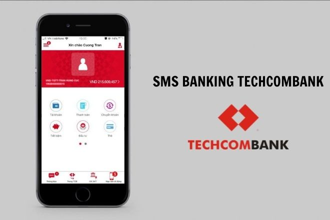 sms banking techcombank