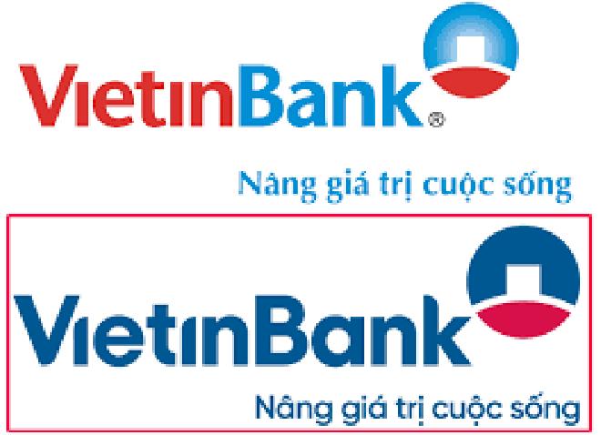 so sánh logo vietinbank