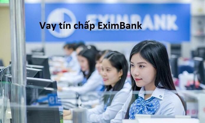 vay tín chấp Eximbank theo lương